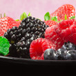 Greedy red fruits — Stock Photo #10725240