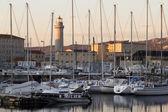 Trieste yelkenliler — Stok fotoğraf