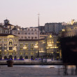 Trieste beautiful panorama — Stockfoto