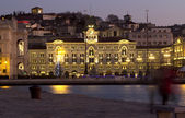 Unità square in Trieste — Stock Photo
