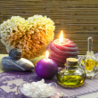 Lavender spa — Stockfoto
