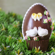Easter chocolate bell — Stock Photo #9740655