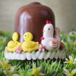 Easter chocolate bell — Stock Photo #9740676