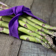 Asparagus bunch — Photo