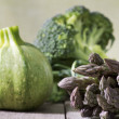 Stock Photo: Healthy vegetable selection
