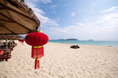 Chinese beach vacation — Stock Photo