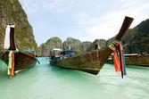 отпуск лодки — Стоковое фото
