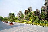 Dai Nam Temples and Safari Park in Vietnam — Stock Photo