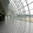 Modern Airport Interior — Stock Photo
