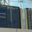 Stock Photo: Domestic Departure flights