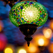 Stock Photo: Glas lamps