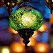 Stock Photo: Ornamented lamp