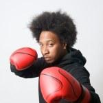 Attack boxing — Stock Photo #10058637