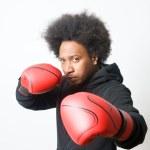 Black Boxer — Stock Photo #10058674