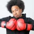 African American Boxer — Stock Photo #10058728