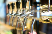 Beer Taps — Stock Photo