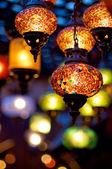 Hanging lamps — Stock Photo