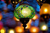 Ornamenterade lampa — Stockfoto