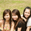 Group of Vietnamese Girl — Stock Photo