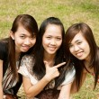Group of Asian Girl — Stock Photo