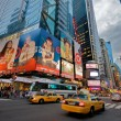 Traffic at Time Square in New York City — Stock Photo