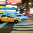 New York City Taxi — Stock Photo #10427769