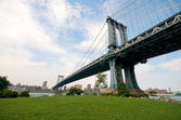 New York Manhattan Bridge — Stock Photo