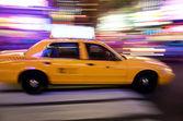 Yellow Cab New York — Stock Photo