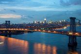 Bridge in New York — Stock Photo