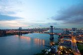 New York Williamsburg Bridge — Stock Photo