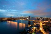 Bridge in New York — Stock fotografie