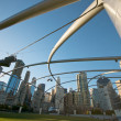 Millennium Park Chicago — Stock Photo