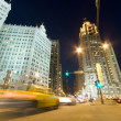 Traffic on Michigan Avenue in Chicago — Photo