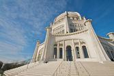 The Baha'i House of Worship in Chicago — Zdjęcie stockowe