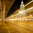 San Francisco Ferry Building at night — Stock Photo