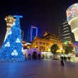 Shanghai During Christmas — Stock Photo