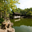 Zen Pagoda on Water in Suzhou — Stock Photo