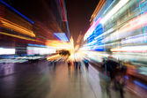 Shanghai City in motion — Stock Photo