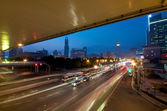 šanghaj dálnice — Stock fotografie
