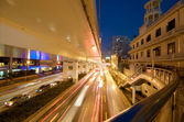 Shanghai evening traffic — Stock Photo