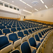 Empty lecture hall in college — Stock Photo
