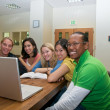Group of Students studying — Foto de Stock