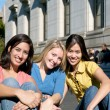 Group of Girls in America — Stock Photo