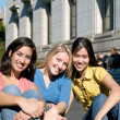 Stock Photo: Group of Girls in America