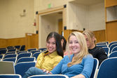 Students in lecture hall — Stock fotografie