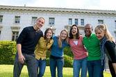 Estudante multicultural — Fotografia Stock