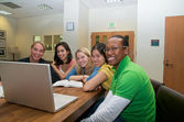 Group of Students studying — Stock Photo