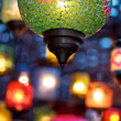 Stock Photo: Colorful lamps