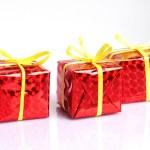 Gift boxes — Stock Photo #8352749