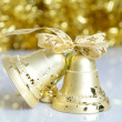 Christmas bell background — Stock Photo